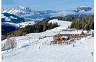 Skigebiet Lärchfilzkogel bei Fieberbrunn