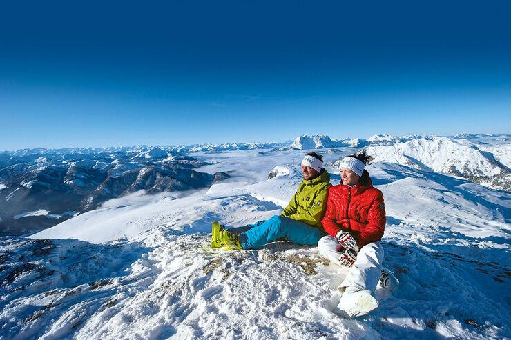 Skigebiet Steinplatte bei Waidring