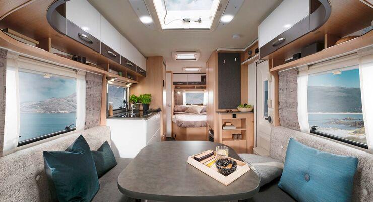 Wohnwagen Mit Etagenbett Und Einzelbetten : Sondermodelle caravans mit preisvorteil caravaning