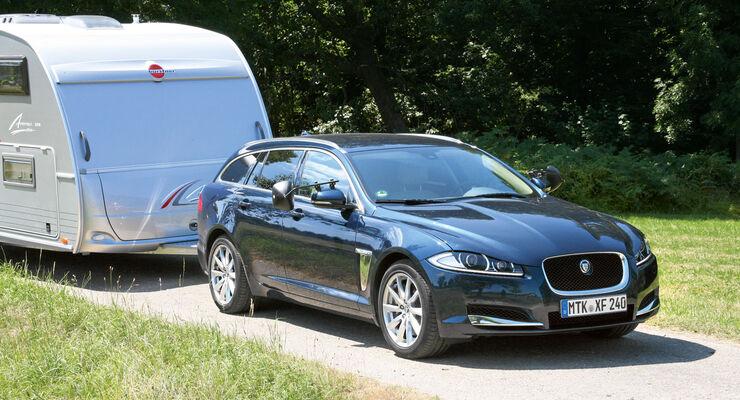 Test: Jaguar XF