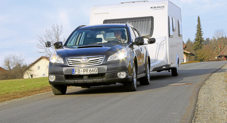 Test, Subaru Outback