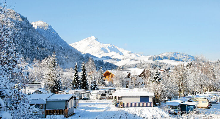 Tirol-Camp in Fieberbrunn im Winter
