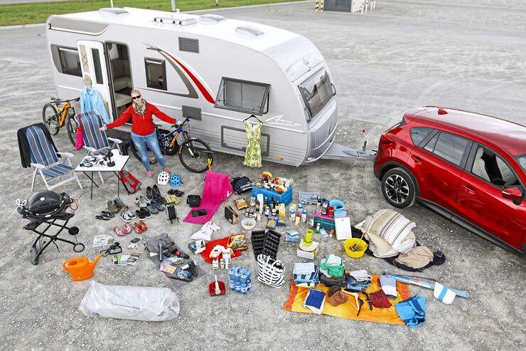 zuladung im caravan wie viel wiegt das campinggep ck caravaning. Black Bedroom Furniture Sets. Home Design Ideas