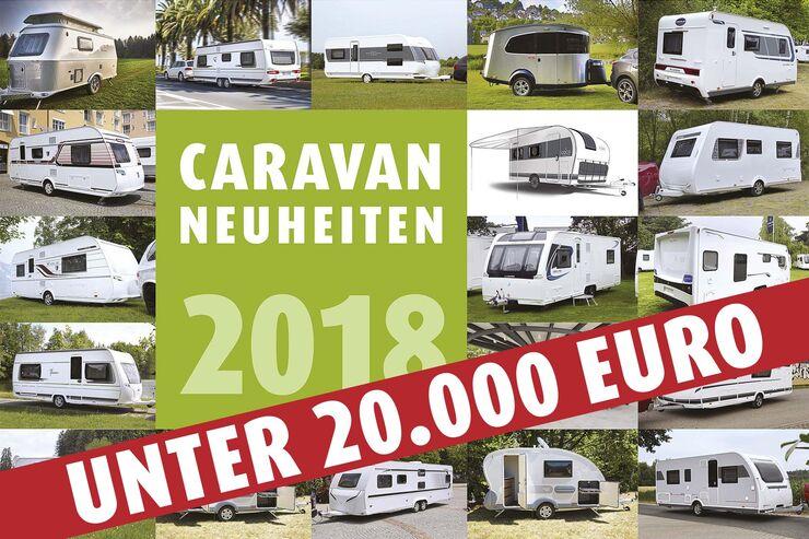 Wohnwagen Mit Etagenbett Und Französischem Bett : Caravan neuheiten wohnwagen unter euro caravaning