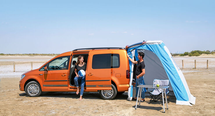 vw caddy beach die vierte generation des minimobils. Black Bedroom Furniture Sets. Home Design Ideas
