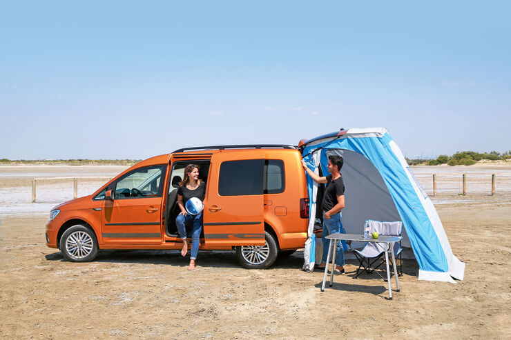 vw caddy beach die vierte generation des minimobils. Black Bedroom Furniture Sets. Home Design Ideas